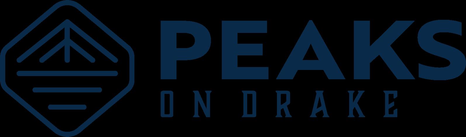 Peaks on Drake horizontal logo